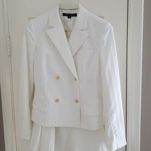 Anne Klein White Suit